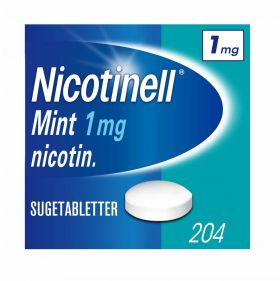 Nicotinell Sugetabletter mint 1mg 204stk