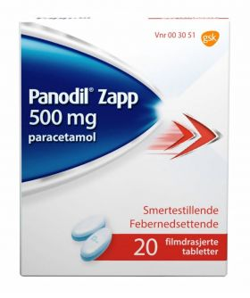 Panodil Zapp tabletter 20stk 500mg