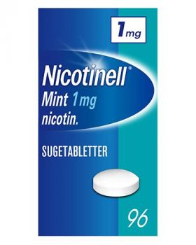 Nicotinell Sugetabletter Mint 1mg 96stk