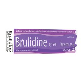 Brulidine krem 0.15% 25g