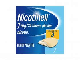 Nicotinell plaster 7mg/24t 7stk