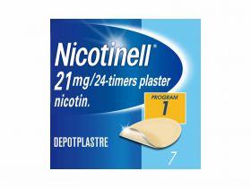 Nicotinell plaster 21mg/24t 7stk