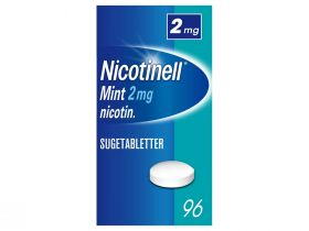 Nicotinell Sugetabletter Mint 2mg 96stk