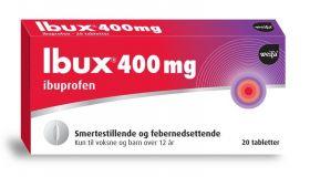 Ibux Tabletter 400mg 20stk