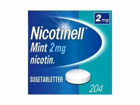 Nicotinell Sugetabletter Mint 2mg 204stk
