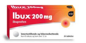 Ibux Tabletter 200mg 20stk