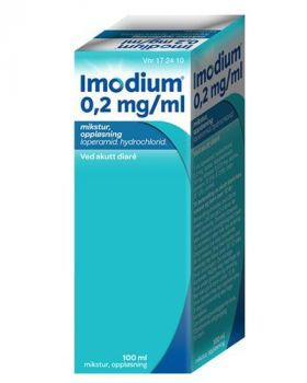 Imodium Mikstur 0,2mg/ml 100ml