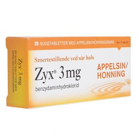 Tabletter Appelsin & Honning 20stk