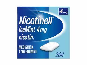 Nicotinell Tyggegummi Icemint 4mg 204stk