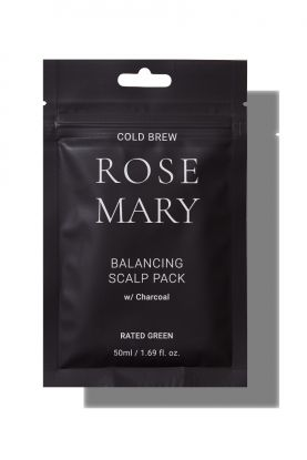 Cold Brew Rosemary Balancing Scalp Pack w/ Charcoal 50ml