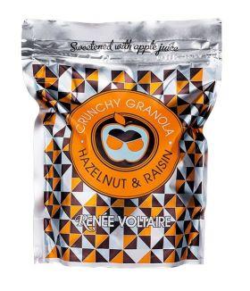 Crunchy Granola Hasselnøtt & Rosiner 500g