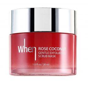 When Rose Coconut Gentle Exfoliating Scrub Mask 30ml