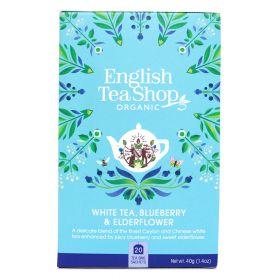 Te White, Blueberry & Elder Flower 20stk