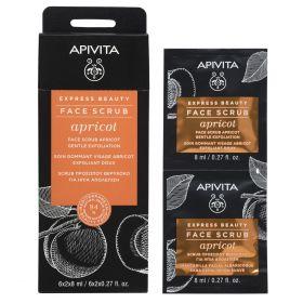 Express Beauty Face Scrub Apricot 2x8ml