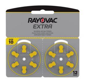Extra Advanced Høreapparat Batteri 10, 12stk