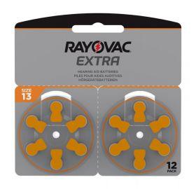 Extra Advanced Høreapparat Batteri 13, 12stk