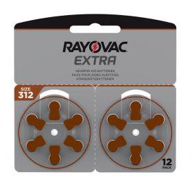 Extra Advanced Høreapparat Batteri 312, 12stk