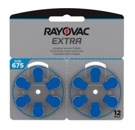Extra Advanced Høreapparat Batteri 675, 12stk