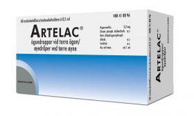 Artelac 3,2mg/ml øyedråper Endosebeholder 60x0,5ml