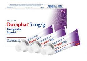 Reseptfri fluortannpasta 5 mg/g 3x51g
