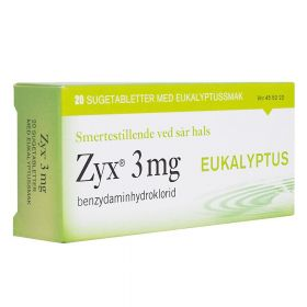 Tabletter Eukalyptus 20stk