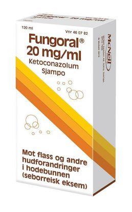 Sjampo 20 mg/ml 120ml