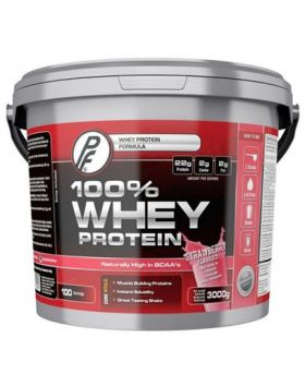 100 % Whey Protein, Strawberry 3000g