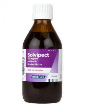 Solvipect Mikstur 20mg/ml 250ml