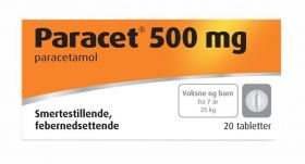 Paracet Tabletter 500mg 20stk