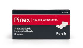 Pinex Tabletter 500mg 20stk