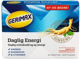 Daglig Energi tabletter 90 stk