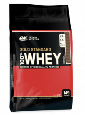100% Whey Gold Standard Double Rich Chocolate 4545g