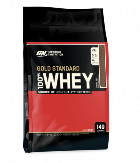 100% Whey Gold Standard Delicious Strawberry 4545g