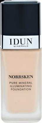Norrsken Liquid Foundation Freja (varm lys) 30ml