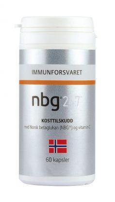 NBG 24:7 kapsler 60 stk