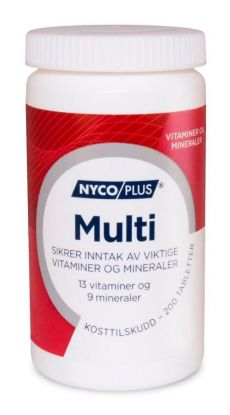 Nycoplus Multi tabletter 200 stk