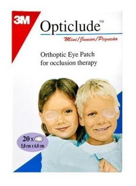 Opticlude øyelapp mini 20stk