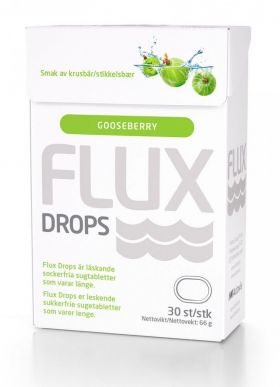Flux Drops Stikkelsbær 30stk
