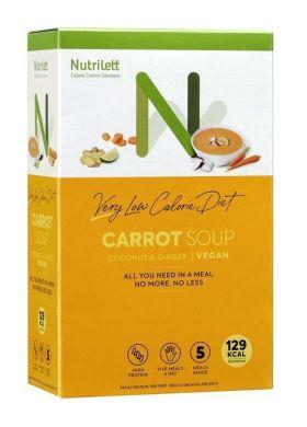 Nutrilett gulrotsuppe 5 x 33 g