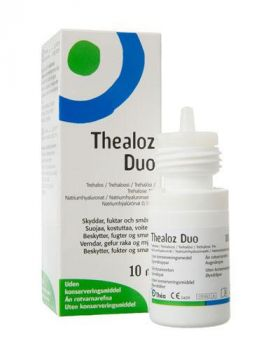 Thealoz Duo Øyedråper 10ml
