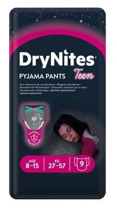 Drynites bleier jente 8-15 år 9stk