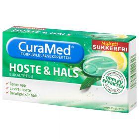 Curamed Hoste & Hals eukalyptus 20stk