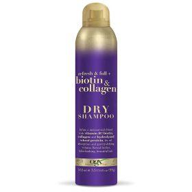 Biotin & Collagen Dry Shampoo 165ml