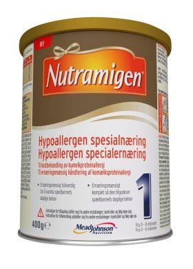 1 hypoallergen spesialnæring 0-6 mnd 400g