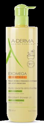 A-Derma Exomega Control Shower Oil 750ml