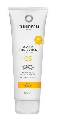 Cliniderm Caring Protection Sun Lotion SPF25 250ml