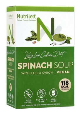 Nutrilett spinatsuppe 5 x 33 g