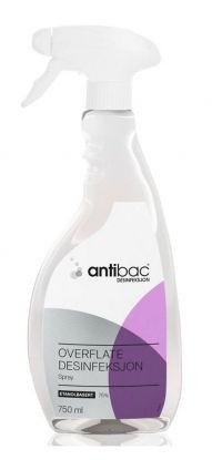 Antibac 75% overflatedesinfeksjon spray 750ml