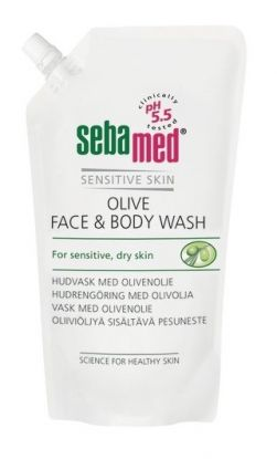 Olive Face & Body Wash Refill 1000ml