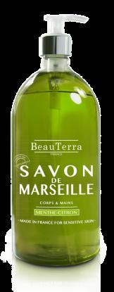 Marseille Soap Mint Lemon 300ml